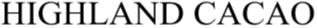 商標審決レポート(HIGHLAND CACAO)   2020年